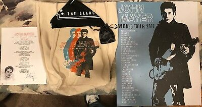 John Mayer Autograph Bundle