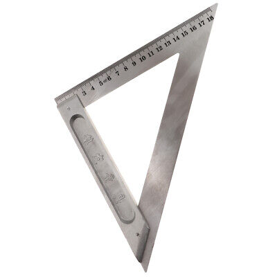 Square Layout Tool Triangle Ruler for Carpenter 150mm 180mm 200mm