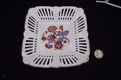"SHUMANN  GERMANY 6 1/4""  Reticulated CANDY DISH"