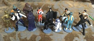 13 Piece Lot Lucas Film/Applause STAR WARS Characters 1995-1997
