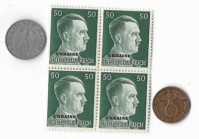 Rare Old WWII WW2 Germany Coin Ukraine Russia Stamp Great War Collection Lot G32