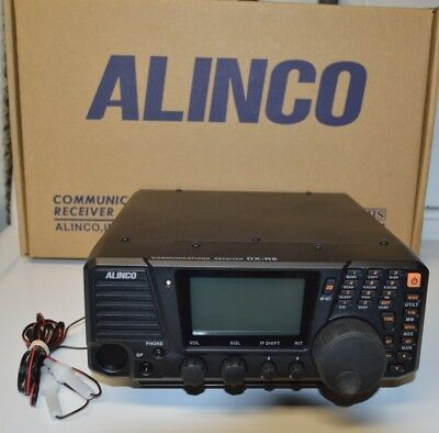 Alinco DXR8E HF Radio Receiver. This is the best HF Receiver I could find.