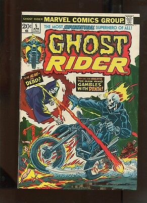 Ghost Rider #5 (8.5) The Man Who Gambles With Death