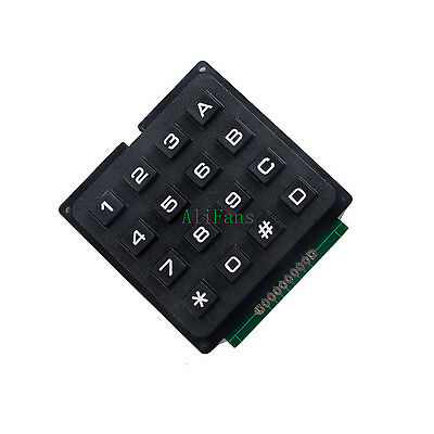 4 x 4 Matrix Array 16 Keys 4*4 Switch Keypad Keyboard Module for Arduino AU