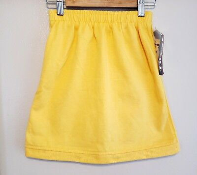 Vintage with Tags Our Girl by Health-Tex Yellow Sporty Skirt Size XS