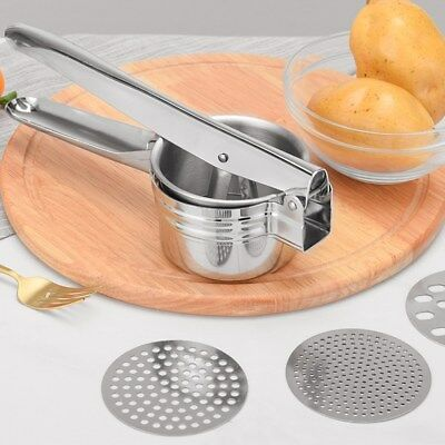 Stailess Steel Potato Ricer Masher & Fruit Vegetable Press Maker Kitchen Tools