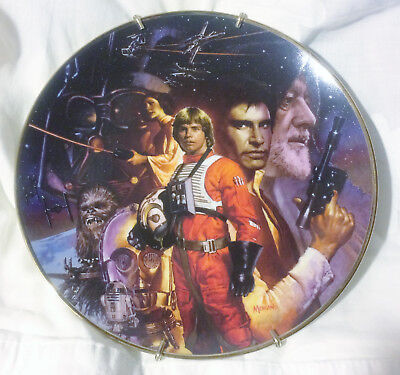 1993 Star Wars Trilogy Hamilton Collection Limited Edition Collectors Plate