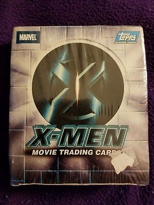 Marvel Comics Topps 2000 X-Men  Movie Trading Cards Factory Seal 24 Pack Box