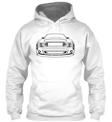 Hoodie Ford Mustang Car Super Snake 13 14 2013 2014 gt 500 gt500 v8 shelby