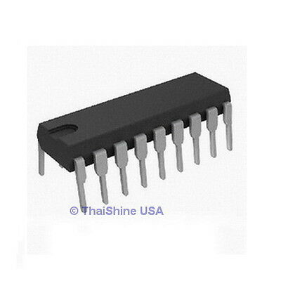 10 x ULN2803A ULN2803 TRANSISTOR ARRAY-8 NPN IC THOSIBA - USA SELLER