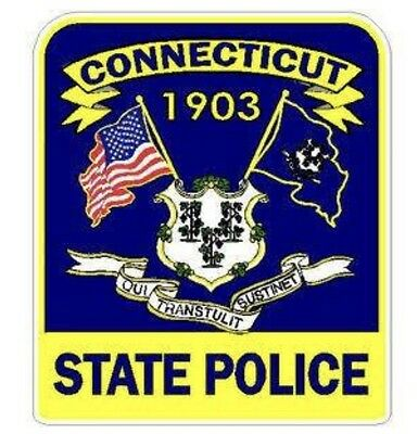 Connecticut State Police Decal Sticker