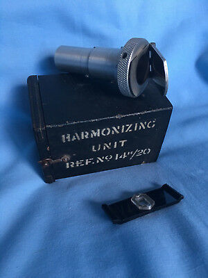 Rare Ww2 Spitfire Harmonizing Unit For Gun Camera 14 H/23 Original Condition