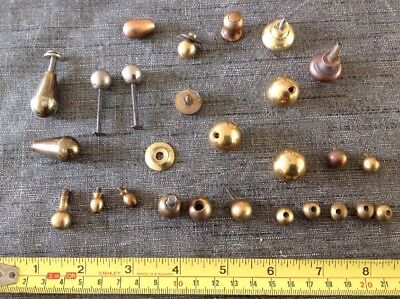 Clockmakers Clock Feet Brass Sets Pairs Singles From Spare Parts Collection