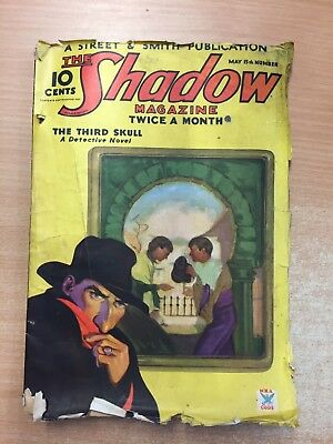The Third Skull, The Shadow Magazine May 15 1935