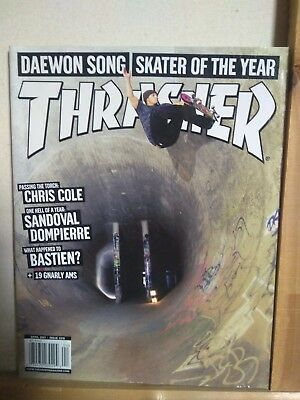 Thrasher magazine April 07 SOTY issue Nike in China, Shane Cross + much more !