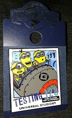 Universal Studios Minions Movie Collectible Pin Rare Authentic E