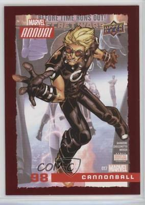 2016 Upper Deck Marvel Annual Red #98 Cannonball Non-Sports Card c5t