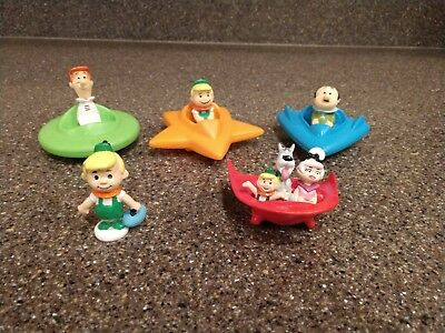 Hanna Barbera Jetsons Toys - George, Elroy, Mr. Spacely from Wendys