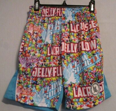 Nwt Flow Society Girl's Youth Jelly Bean Performance Short  Xs