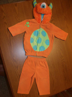 Super Cute!!!  Old Navy Baby Monster Halloween Costume Size 6-12 Months Euc