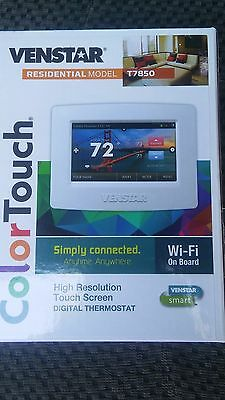 Venstar T7850 Digital Thermostat Residential Color Touch Model Wi-Fi