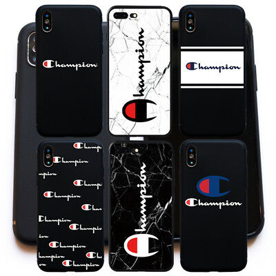 Fashion Champion Cracks Print TPU Full Cover Case for iPhone 6 6S 7 8 plus X