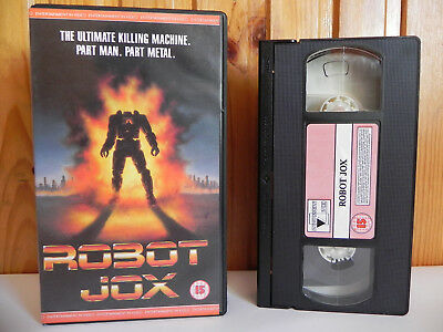 Robot Jox - Entertainment In Video - Sci-Fi - Part Man - Part Metal - Pal VHS