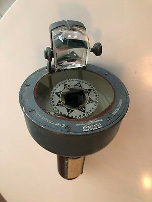 Henry Browne & Son Sestrel Liquid Filled Hand Compass Vintage Nautical England