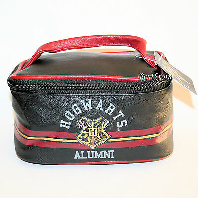 Harry Potter Hogwarts School Alumni Luggage Train Case Travel Tote Cosmetic Bag