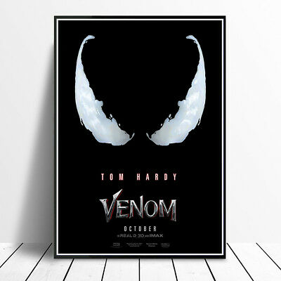 Venom 2018 Movie Poster Tom Hardy High Quality Glossy A4 A3 Print Wall Art