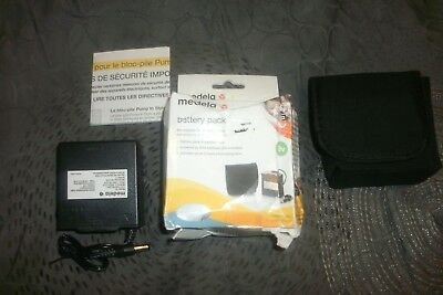 Medela 9V Battery Pack w/Padded Case Authentic Pump-In-Style Part #67553 (B44)