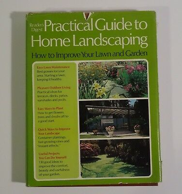 Vintage Reader's Digest Practical Guide to Home Landscaping hardcover 1972