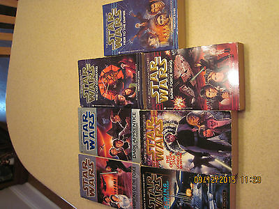 Star Wars Lot of 8 Books