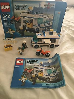 Lego City Excavator Transport 4203 Complete Set With Instructions