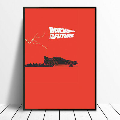 80's CLASSIC BACK TO THE FUTURE MOVIE WALL ART MOVIE POSTER PRINTS A4 A3 GLOSSY