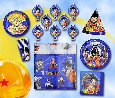 Dragon Ball Z Party Decorations Best DRAGONBALL PARTY Set 32 DragonBall Supplies Choose