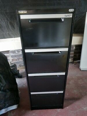 Filing Cabinet 4 Draw-Elite Built -Heavy Duty -Ball Bearings Anti Tilt. Exc cond