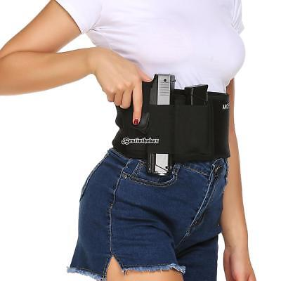 Concealed Carry Non-Slip with Calf Strap Ankle Holster RLWH
