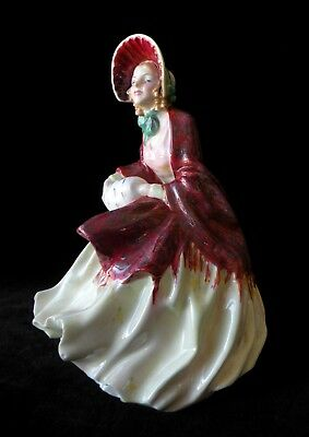 ROYAL DOULTON Hand Painted English Bone China Figurine - HER LADYSHIP - HN1977