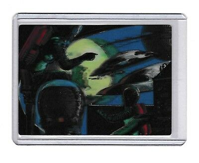 2012 Topps Mars Attacks Through The Magic Of 3-Dimension #2 Chase Card Nm/Mt