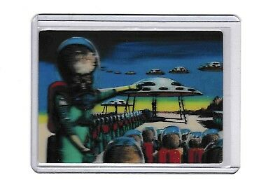 2012 Topps Mars Attacks Through The Magic Of 3-Dimension #1 Chase Card Nm/Mt
