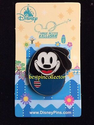 Hong Kong Disney Pin HKDL MA Member Exclusive 2018 Easter Egg-Oswald