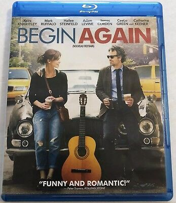 Begin Again (Bluray, 2014) Canadian