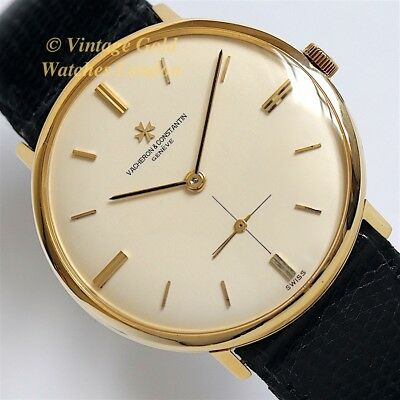 Vacheron & Constantin Cal. K1001/1, 18Ct, 1968 V&c Model Ref. 6457 - Immaculate!
