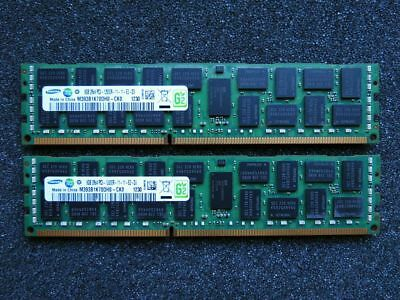 [16GB Kit] 2x Samsung M393B1K70DH0-CK0 8GB PC3-12800R DDR3 1600MHz ECC RDIMM