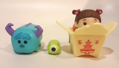 Disney Tsum Tsum Boo Stack Sulley Mike Vinyl Stack Monsters Inc Boo Hard to Find