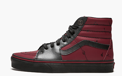 NEW Vans x Marvel Sk8-Hi Deadpool Shoes Multiple Sizes Mens Womens x1 4dd4d63a7