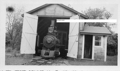 Wiscasset Waterville & Farmington RR WW&FRR Photo Locomotive #6