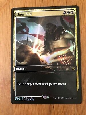 1x FOIL UTTER END - Rare - Games Day - MTG - NM - Magic the Gathering