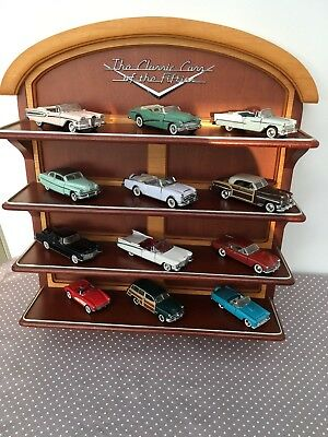 Franklin Mint The Classic Cars of the fifties 12 Modellautos Regal Dokumente